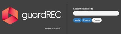 Authentication-code-guardrec-compliance
