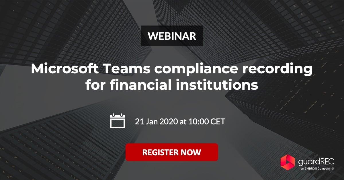 microsoft teams compliance recording guardrec
