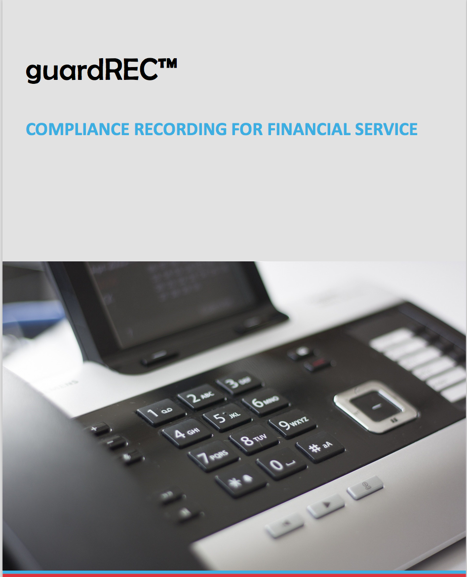 Datasheet - Compliance recording for financial services cover.png