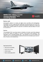 guardREC ATC-RefCase-AirBase-Middle-East