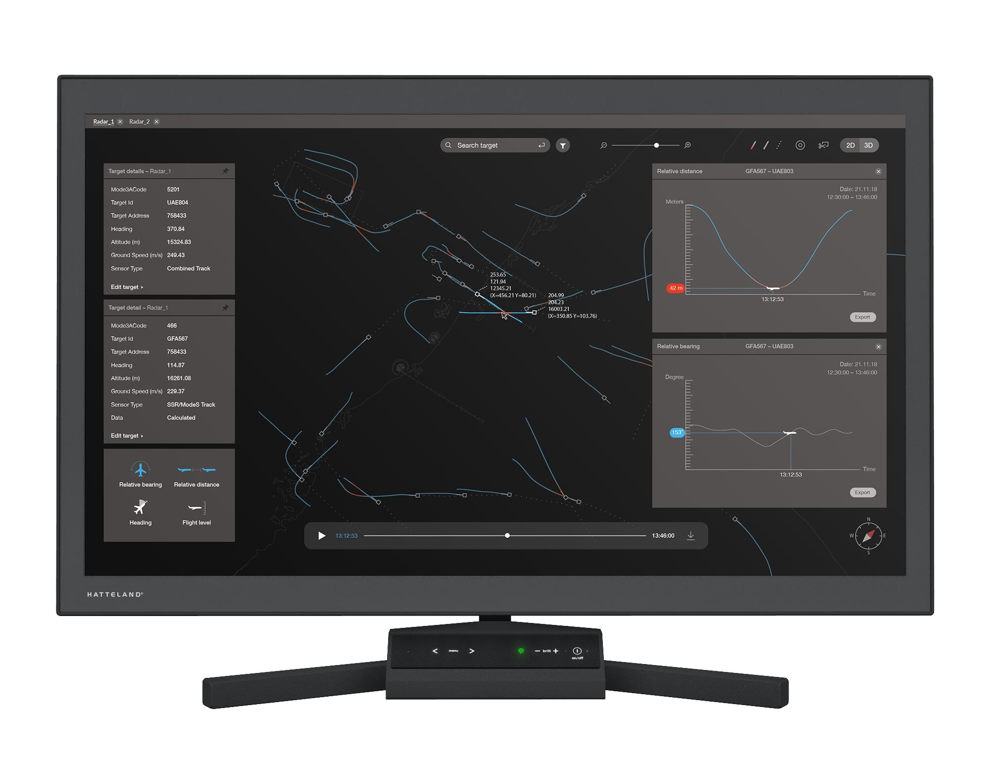 GuardREC-ATC-43-Monitor-Radar-Replay